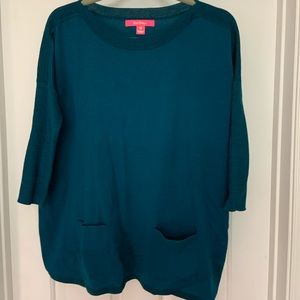 Lilly Pulitzer Dolman sleeve tunic.